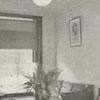 Reception parlor for Dr. Eugene L. Cox, 1918.