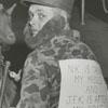 G. Raymond Saylor dressed as Fidel Castro for Halloween, 1962.
