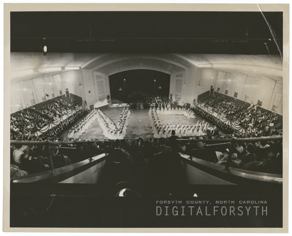 Terry Sanford's Inaugural Ball in Raleigh, 1961.