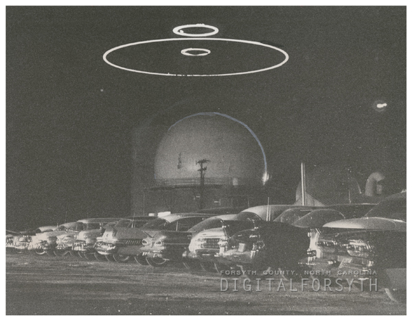 Air Force Radar Station on Union Cross Road, 1962.