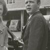 Nancy Ann Fleming, Miss America, and J. T. Greene Jr., President of the Winston-Salem Jaycees, 1961.