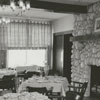 The dining room in the Manor House restaurant at Tanglewood Park, 1961.