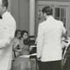 Mayor John Surratt dancing with Mrs. James Gibson Jr. at the Magnolia Ball, 1961.