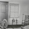 Bedroom in the Miksch Tobacco Shop in Old Salem, 1960.