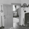 Kitchen in the Miksch Tobacco Shop in Old Salem, 1960.