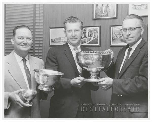 D. W. Jeffries, Jack Poffenbarger, and Carl E. Dixson, 1960.