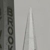 New steeple for Reynolda Presbyterian Church awaiting installation, 1960.