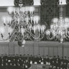 Graduation exercises for Wake Forest College in Wait Chapel, 1960.