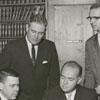 Arthur Gelber, Philip Hanes, Keith Martin, George Irwin, Charles Mark, and Ralph Burgard, 1960.