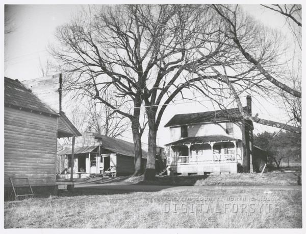Houses at Bethabara, 1959.