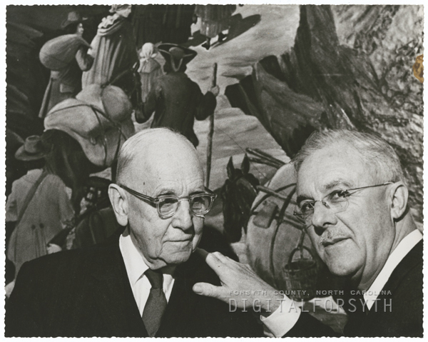 Rt. Reverend J. Kenneth Pfohl and W. Herbert Spaugh, 1959.