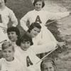 Ardmore Wildcats majorettes, 1959.