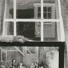 Mrs. Sam H. Pinkston in the John Vogler House in Old Salem, 1959.