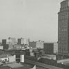 View of the downtown skyline, 1962.