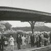 David and John W. Petree at Union Train Station, 1969.