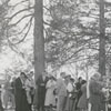 Easter Sunrise Service in God's Acre at Bethabara Moravian Church, 1958.
