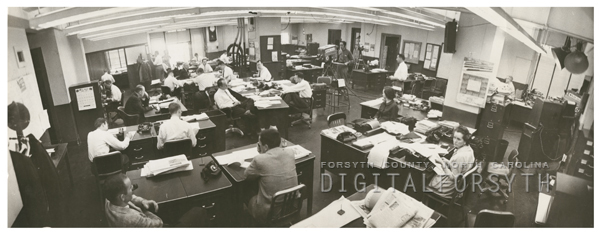Digital Forsyth | Winston-Salem Journal newsroom, 1958