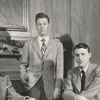 The men standing are Bill Hill, NormanStockton Jr., and Bob Hague.  The men sitting are: Dick Port and Zachary Smith, 1948.