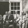 Dedication of the Wachovia Museum and Salem Boys School reunion, 1954.