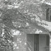 House built by Abram Allen in 1832, Davie County, 1942.