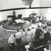 Homecoming at Cherry Hill Lutheran Church in Mocksville, 1973.