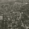 Aerial of downtown, looking north, 1935.