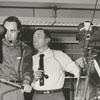 Bob Gordon (Robert Van Horn) and Frank Jones, 1958.