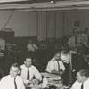 WSJS television was filming the Winston-Salem Journal newsroom, 1958.