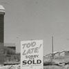 Construction in Bowen Park housing development, 1958.