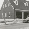 Construction of the fire station at South Main and Cemetery Streets, 1958.