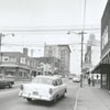 North Main Street, looking north toward Second Street, 1960.