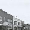 West Fifth Street, looking east toward Trade Street, 1961.