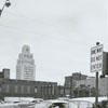 Intersection of West Fifth and North Cherry Streets, 1961.