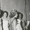 Backstage at the Miss Winston-Salem beauty pageant, 1957.
