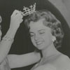 Miss America Marian McKnight crowning the new Miss Winston-Salem, Betty Jean Goodwin, 1957.