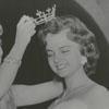 Miss America Marian McKnight crowning the new Miss Winston-Salem, Betty Jean Goodwin, 1957.