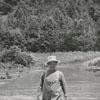 Harvey Branon and the Yadkin River flood, 1957.