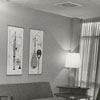 The doctor's lounge in the Professional Building, 1957.