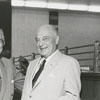 Archie (A. G.) Allen with George W. Coan Jr., 1957.