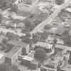Aerial of City Memorial Hospital, 1957.