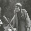 Jimmy Dorsett and David Crockett, explorer scouts, 1957.