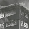 Firefighters at the B. F. Huntley Furniture Company fire, 1956.