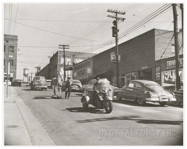 West Sixth Street, 1956.