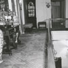 The drawing room and second floor balcony at Reynolda house on the Reynolda Estate, 1956.