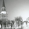 Wake Forest College campus, 1956.