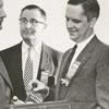 Emmer M. Dudley, Downey J. Booth, Robert King, Jr., Bert Starnes, and David Petty, 1956.