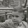 Bert L. Bennett and son, Bert Bennett, 1956.