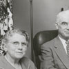 Mr. and Mrs. John (Marjorie) Watson Moore, 1956.