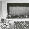 Last graduation for Wake Forest College at the old campus, 1956.