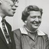 Dale Gramley, Mrs. Caroline Gramley, Harold Tribble, and Mrs. Virginia Irvin, 1956.